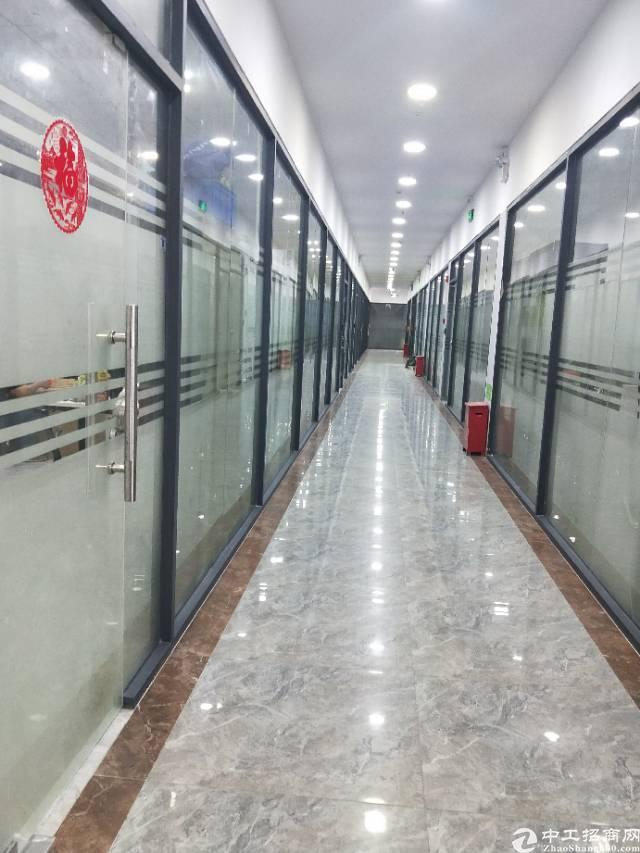 宝安区固戍地铁口精装写字楼170平低价出租