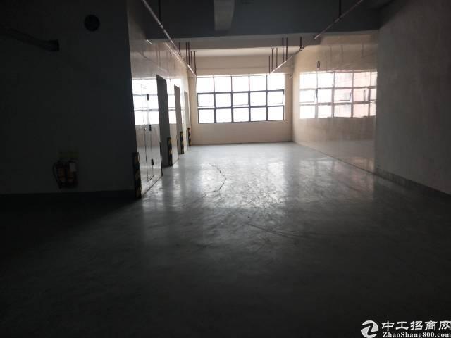 西乡黄田恒昌隆楼上1600平标准厂房出租