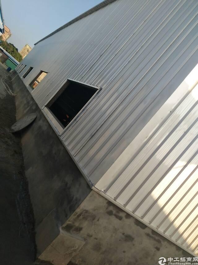 龙溪镇浦上村新建成钢结构1600平方仓库优先