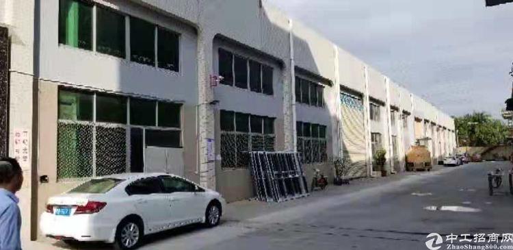 松岗宝安大道边上新出独院一楼钢构2800平,到顶8米。