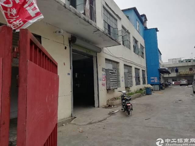 凤岗镇官井头新空出标准一楼400平米可做任何行业仓库价钱公道