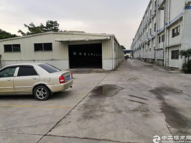 公明街道办南光高速下村出入口500米钢构厂房出租