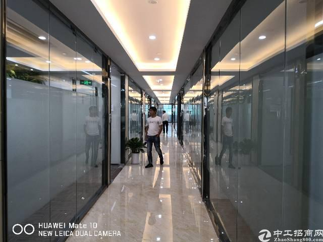 宝安大宝路精装写字楼1.6万平大小可分租