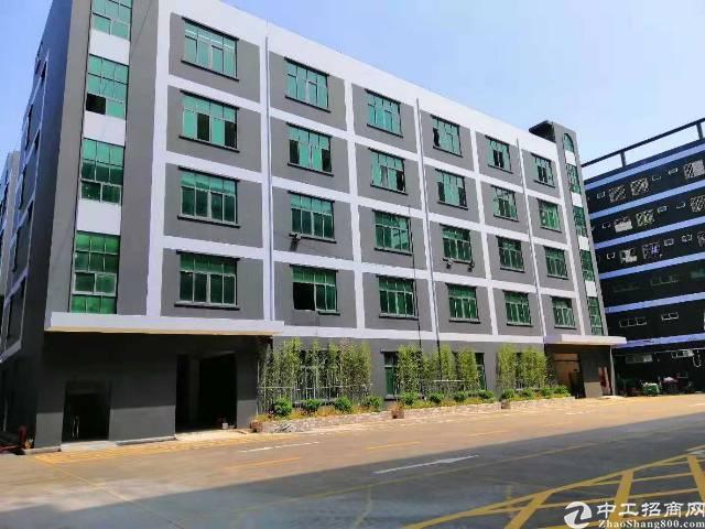 坪山坑梓独院厂房剩下4980平米出租,大小可以分租,