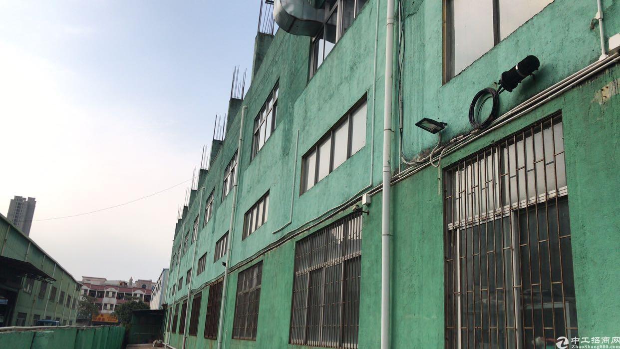沙井后亭地铁口新出独门独院厂房5000平两层6米高