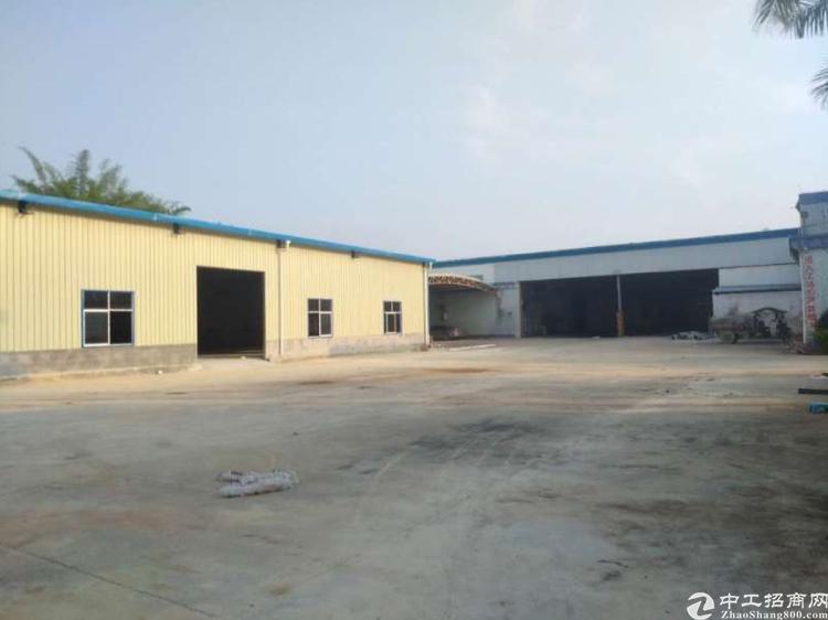 惠阳沙田单一层独院钢构厂房13180平方带独立办公室