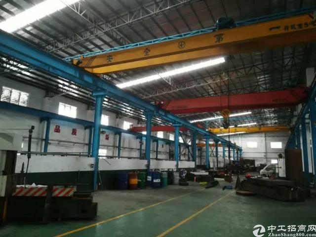 中堂镇原房东带现成行车厂房2000方形象好重工厂房