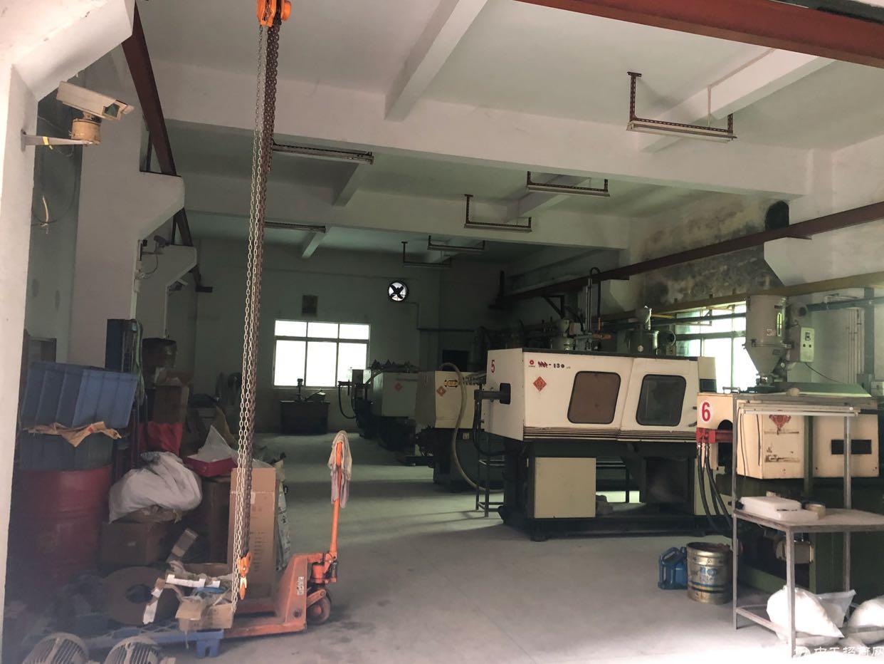 水电,行车,注塑厂房出租,可以放7台啤机,电管够。