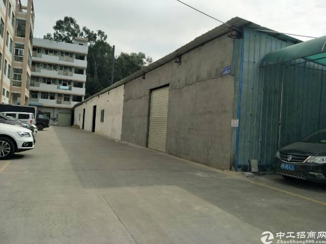 长安镇厦边新出原房东钢构实际面积招租