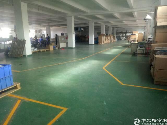 平湖新出带办公室装修标准厂房1500平