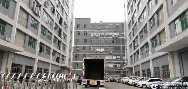 公明南光高速出口新出楼上一整层带装修厂房出租1400