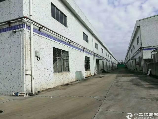 观澜新空出12米高钢结构16000平米独院厂房出租