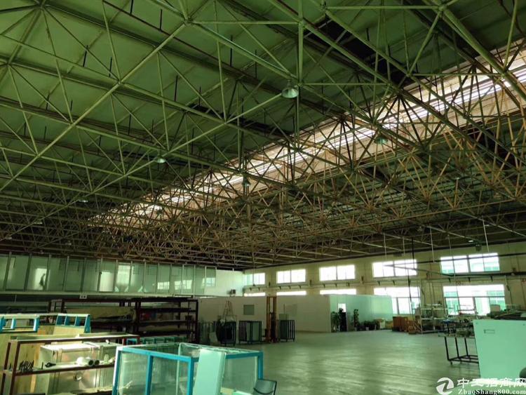 (出租)松岗宝安大道红本标准单一层钢构厂房出租用电大优先