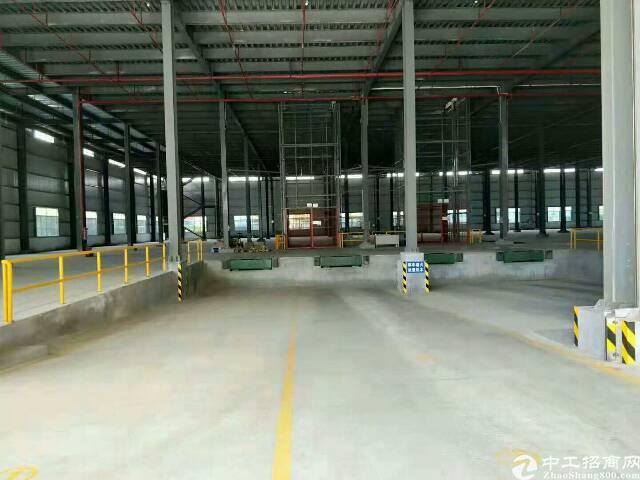 东莞新出带标准卸货平台仓库