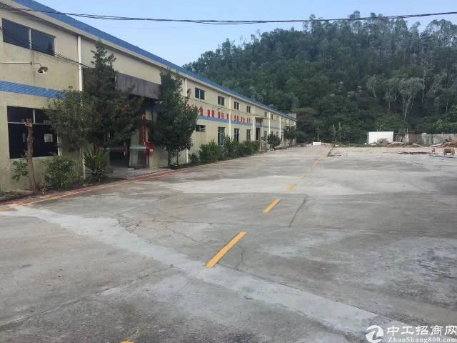 惠阳新圩原房东钢构16000平方厂房出租空地一万平方