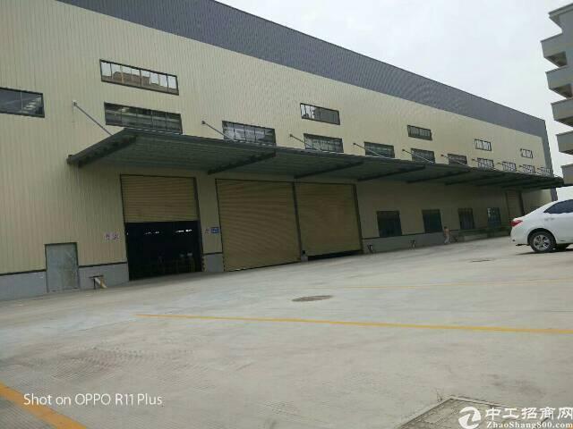 东莞中堂新出滴水10米带卸货平台钢构