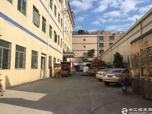 惠阳沙田镇独院2层厂房加宿舍4200平,租15