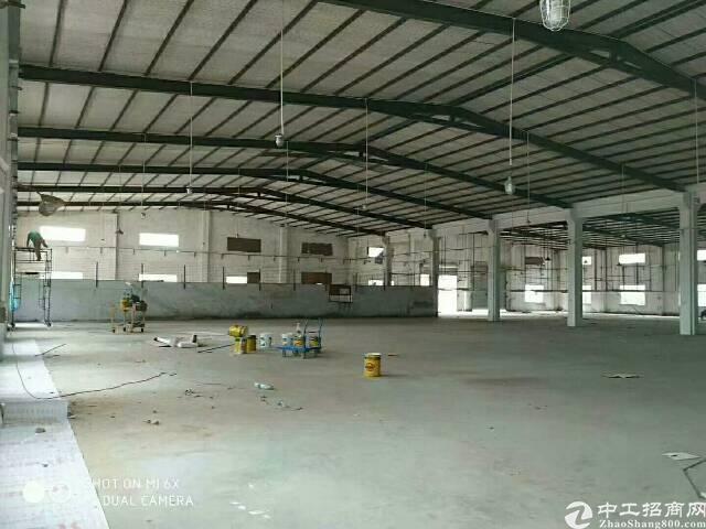 龙岗坪地16000平独院钢结构厂房,大小面积分租