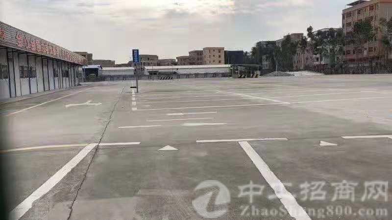 空地,万江已硬化空地,位置非常好,驾校、停车场、运输等的来
