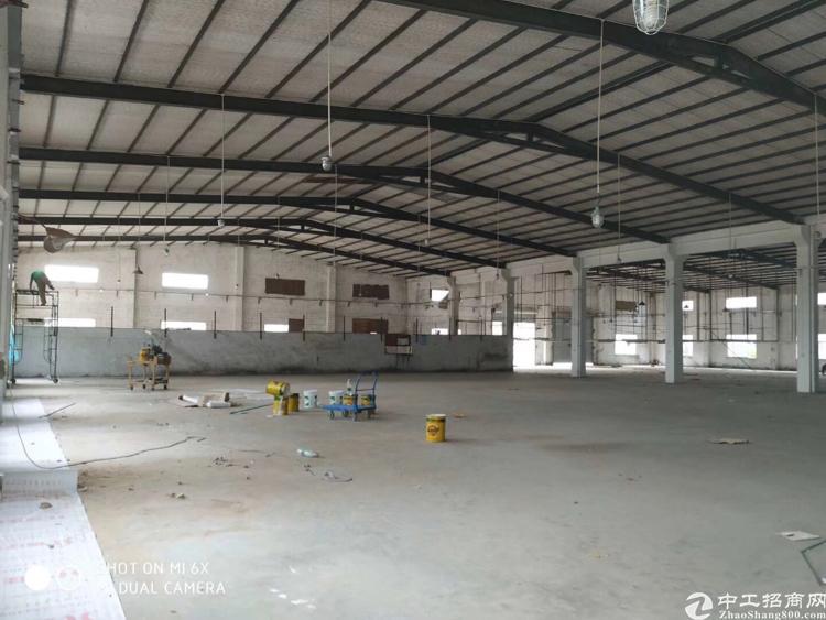 坪地新出独门独院钢结构厂房面积约16000平,大小分租