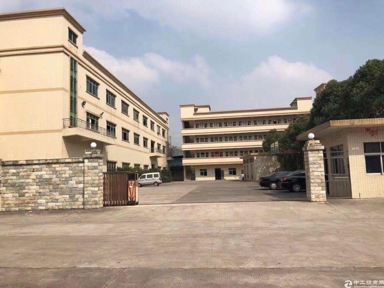 石岩红本厂房占地2700平,建筑4600平出售