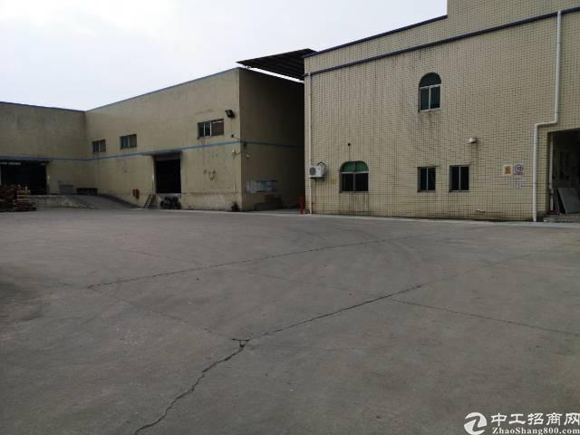 龙岗坪地独院钢构厂房5000平方可分租