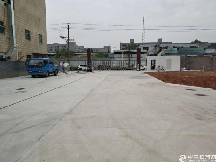观澜新出原房东独门独院标准厂房,1000平,有红本有消防喷淋