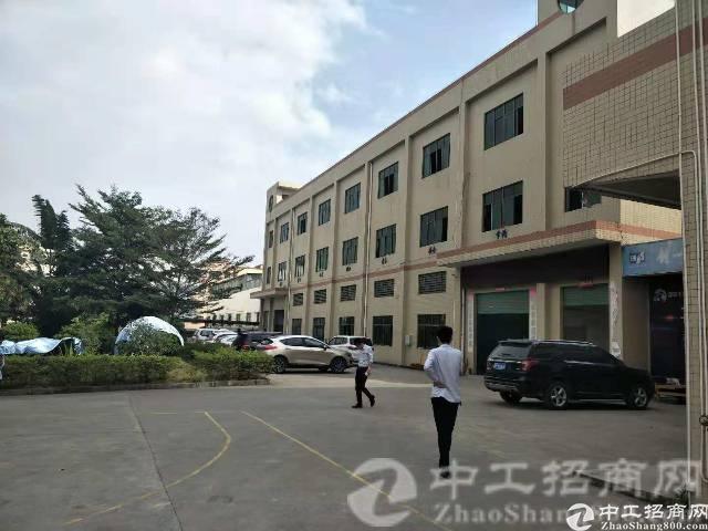 寮夏村精致独院1100平标准重工业厂房月底空出,租金20可谈