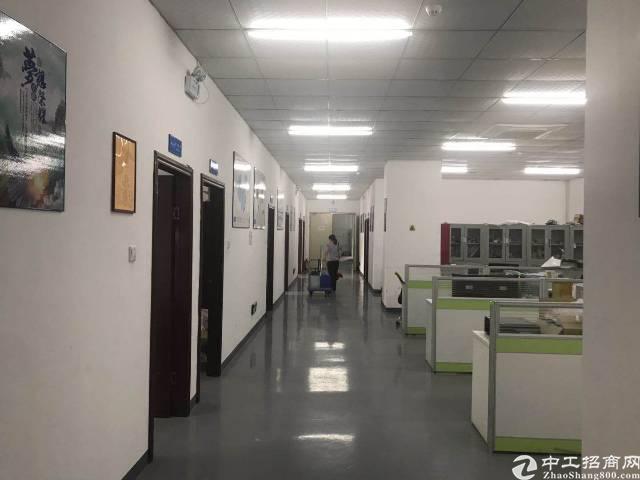 沙井宝安大道地铁口新出楼上带装修1750平米厂房出租