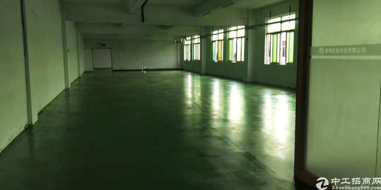 沙井镇107出租国道边黄埔工业区楼上整杯2200平米,可分租