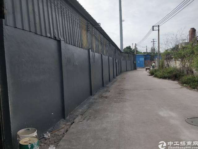 虎门怀德便宜铁皮厂房860方出租,高5米,租金很实惠
