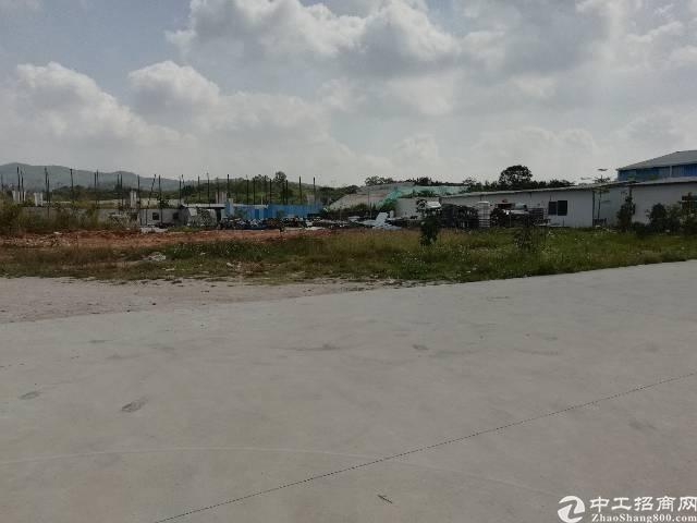 凤岗空地2000㎡,适合做废铁打包、建材、设备堆放,报价15