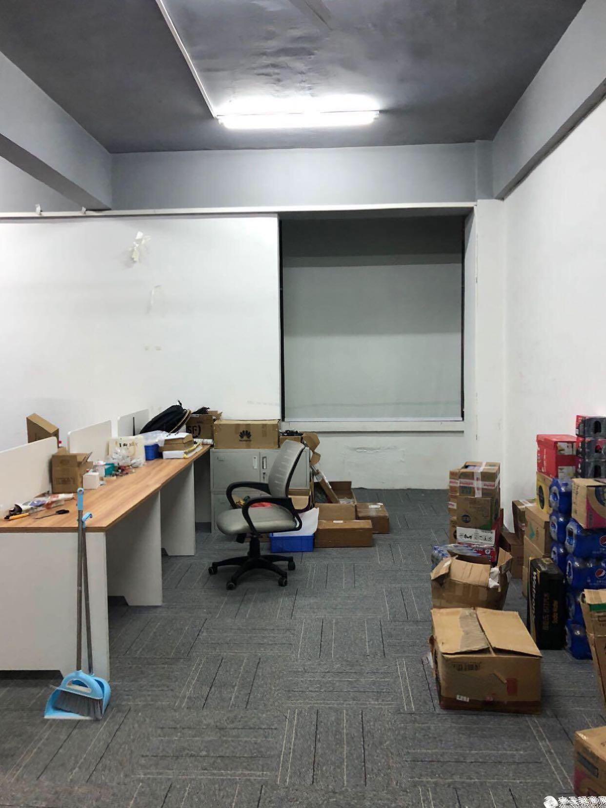 坂田地铁口带简单装修厂房可分租