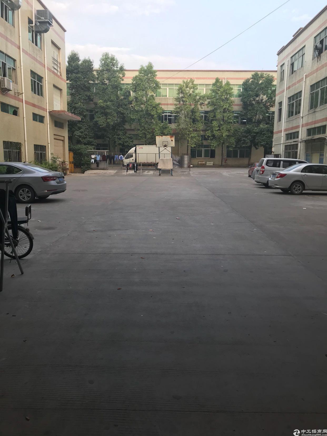 龙岗同乐原房东一楼700平米厂房招租,带航车无公摊