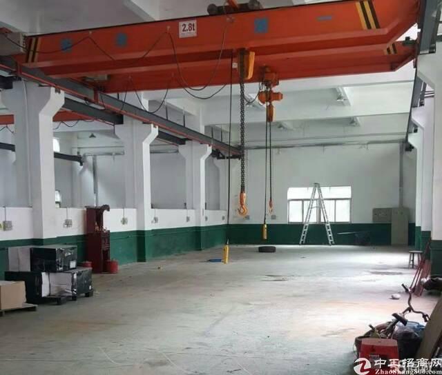 龙岗新出一楼700平带行车标准厂房