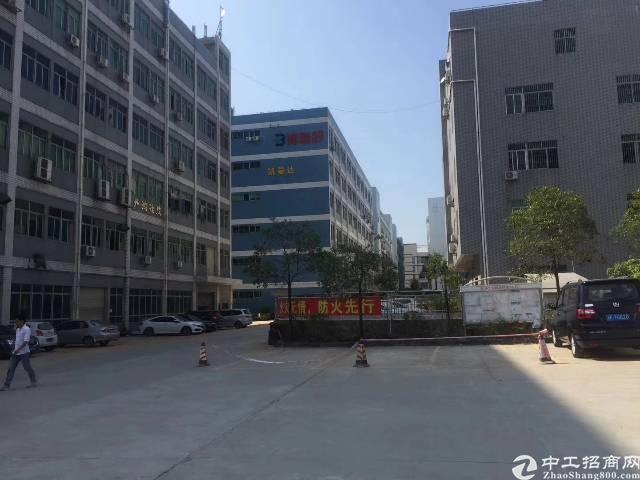 龙岗宝龙高新园区新出红本独院标准厂房楼上1350㎡出租