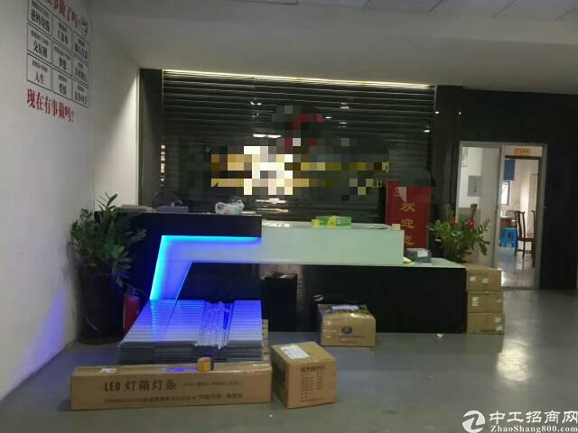 龙华大浪华荣路旁商业中心新出楼上600平米带装修厂房