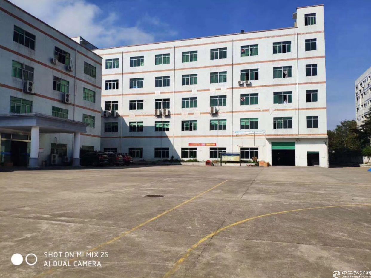 龙岗坪地独院厂房一楼1900平米招租,高6米大小分租
