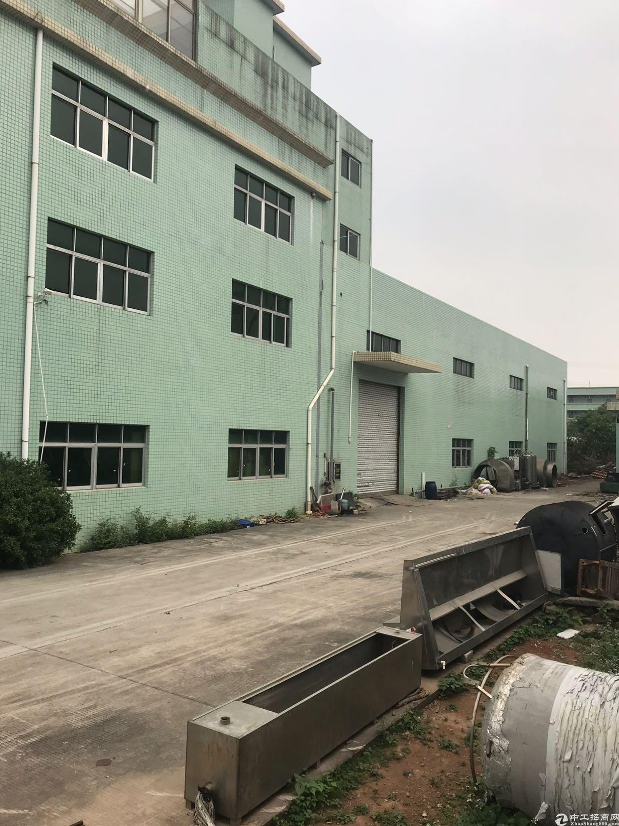 东莞桥头二层厂房出售