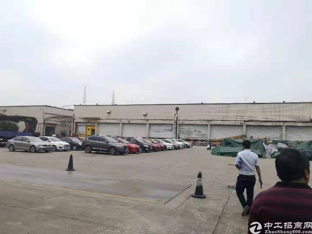 龙华清湖新出一楼13000平方物流园招租可分租