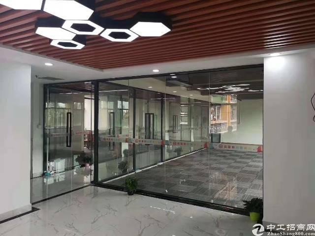 石岩宝石西路汽车站旁精装写字楼1650元/间