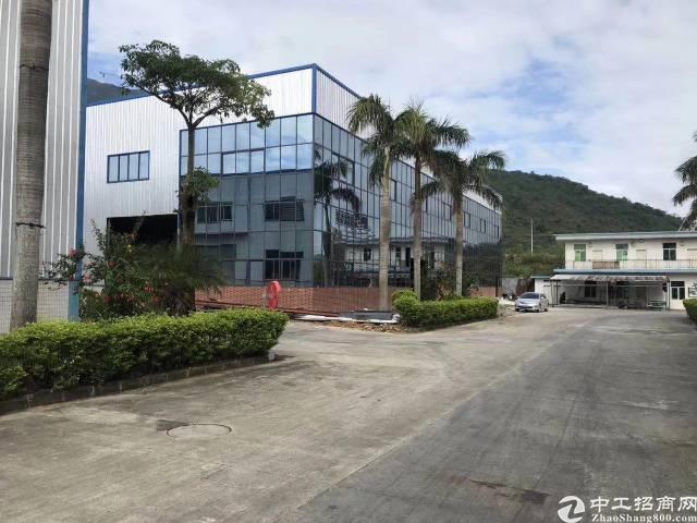 惠州惠阳带现成行车滴水10米钢构厂房3万平方可分租