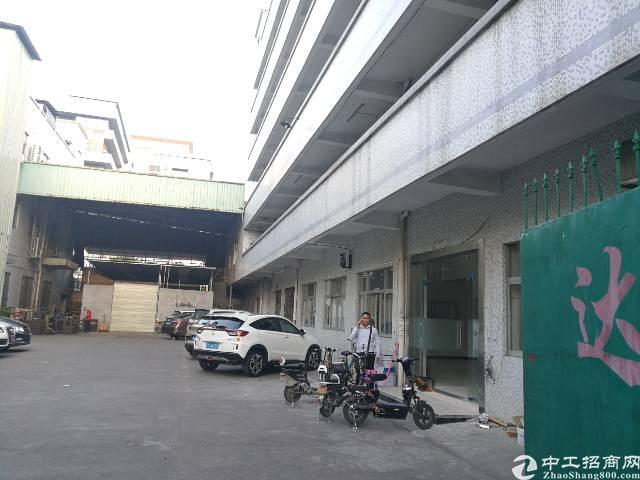 工业区装修齐全的厂房