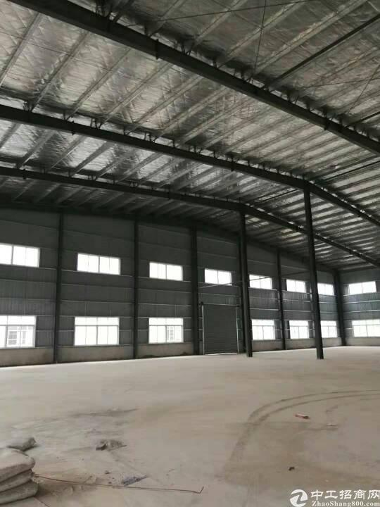 黄陂钢结构厂房4000平米,平库可分隔。仓储办公配全