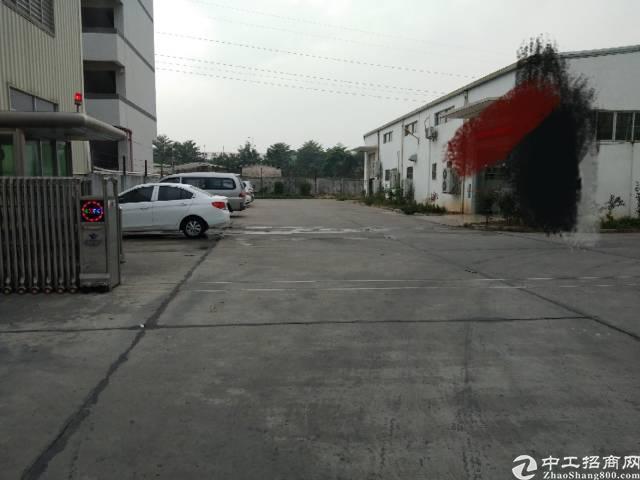东莞市企石镇独院4000平方铁皮厂房出租