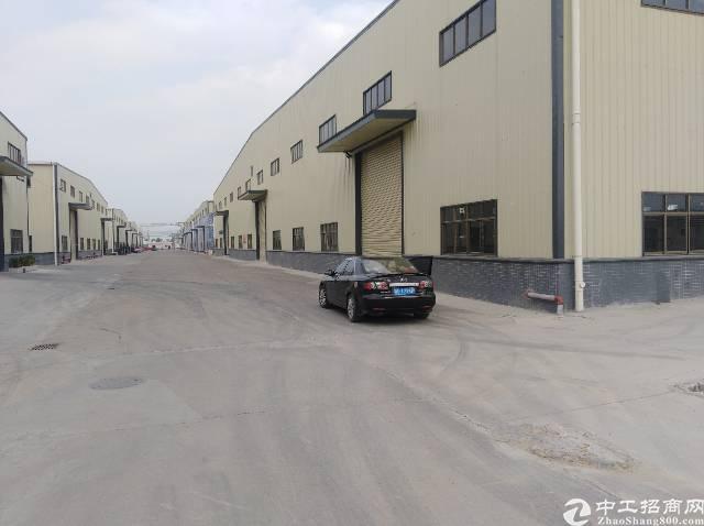 东莞市桥头镇原房东单一层全新钢构厂房,