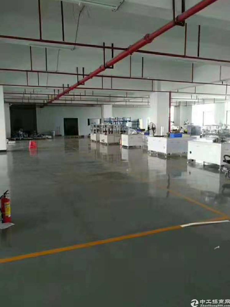 长安镇增田新出楼上1100平带装修厂房出租