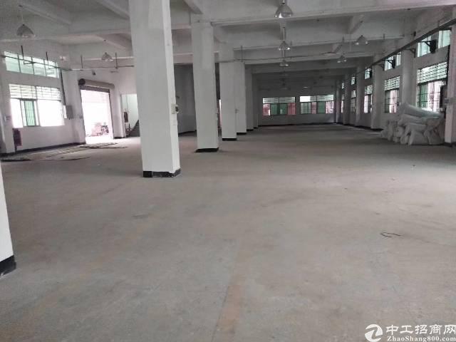 龙岗同乐一楼标准厂房900平出租