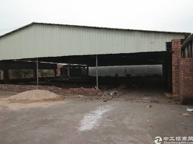 虎门镇白沙村环境好完美,交通方便空地大独院滴水7米适合做仓库
