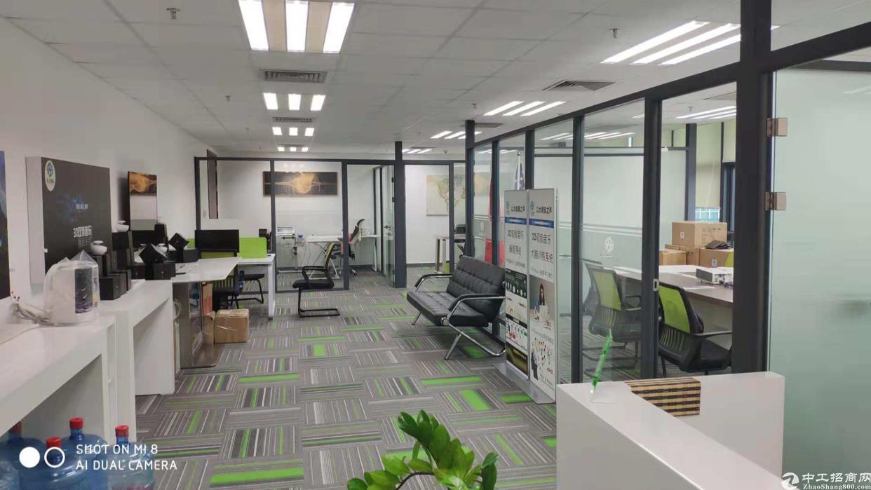 福永机场精装修写字楼大小面积出租配套设施齐全